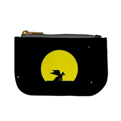 Moon And Dragon Dragon Sky Dragon Mini Coin Purses