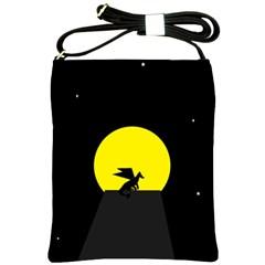 Moon And Dragon Dragon Sky Dragon Shoulder Sling Bags