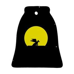 Moon And Dragon Dragon Sky Dragon Ornament (bell)