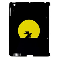 Moon And Dragon Dragon Sky Dragon Apple Ipad 3/4 Hardshell Case (compatible With Smart Cover)