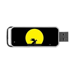 Moon And Dragon Dragon Sky Dragon Portable USB Flash (Two Sides)
