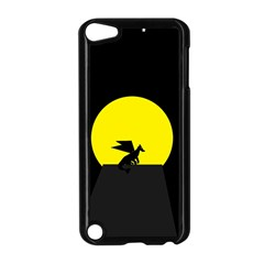 Moon And Dragon Dragon Sky Dragon Apple Ipod Touch 5 Case (black)