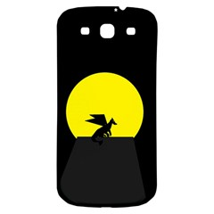 Moon And Dragon Dragon Sky Dragon Samsung Galaxy S3 S III Classic Hardshell Back Case