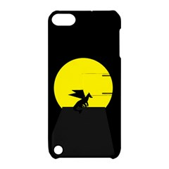 Moon And Dragon Dragon Sky Dragon Apple iPod Touch 5 Hardshell Case with Stand