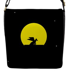 Moon And Dragon Dragon Sky Dragon Flap Messenger Bag (s)