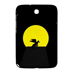 Moon And Dragon Dragon Sky Dragon Samsung Galaxy Note 8 0 N5100 Hardshell Case