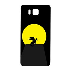 Moon And Dragon Dragon Sky Dragon Samsung Galaxy Alpha Hardshell Back Case