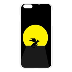 Moon And Dragon Dragon Sky Dragon Apple Seamless iPhone 6 Plus/6S Plus Case (Transparent)