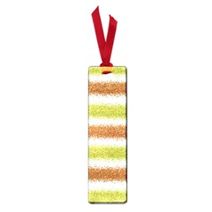 Metallic Gold Glitter Stripes Small Book Marks