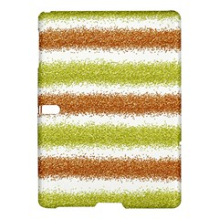 Metallic Gold Glitter Stripes Samsung Galaxy Tab S (10 5 ) Hardshell Case