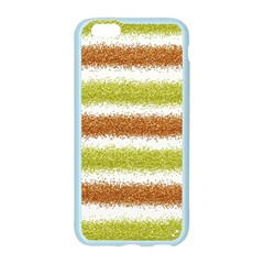Metallic Gold Glitter Stripes Apple Seamless iPhone 6/6S Case (Color)