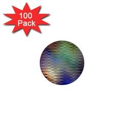 Metallizer Art Glass 1  Mini Buttons (100 pack)