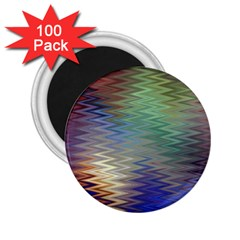 Metallizer Art Glass 2.25  Magnets (100 pack)