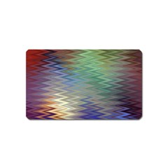 Metallizer Art Glass Magnet (name Card)