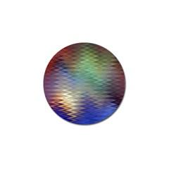Metallizer Art Glass Golf Ball Marker (4 Pack)