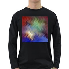Metallizer Art Glass Long Sleeve Dark T-Shirts