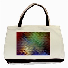 Metallizer Art Glass Basic Tote Bag (Two Sides)