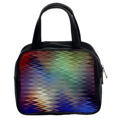 Metallizer Art Glass Classic Handbags (2 Sides)