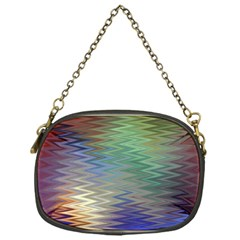 Metallizer Art Glass Chain Purses (one Side)