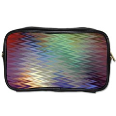Metallizer Art Glass Toiletries Bags 2-Side