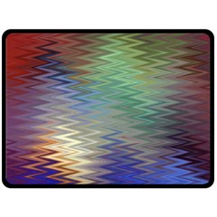 Metallizer Art Glass Fleece Blanket (Large)