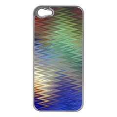 Metallizer Art Glass Apple Iphone 5 Case (silver)
