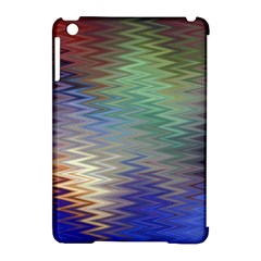 Metallizer Art Glass Apple Ipad Mini Hardshell Case (compatible With Smart Cover)