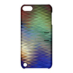 Metallizer Art Glass Apple Ipod Touch 5 Hardshell Case With Stand
