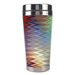 Metallizer Art Glass Stainless Steel Travel Tumblers