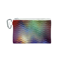Metallizer Art Glass Canvas Cosmetic Bag (s)