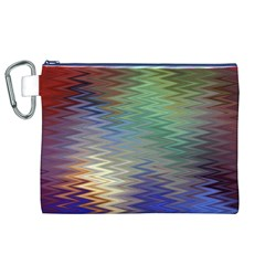 Metallizer Art Glass Canvas Cosmetic Bag (XL)