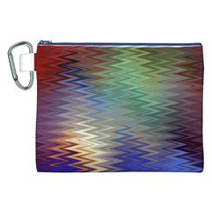 Metallizer Art Glass Canvas Cosmetic Bag (XXL)