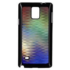 Metallizer Art Glass Samsung Galaxy Note 4 Case (black)