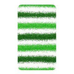 Metallic Green Glitter Stripes Memory Card Reader