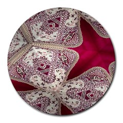 Morocco Motif Pattern Travel Round Mousepads