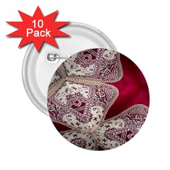 Morocco Motif Pattern Travel 2.25  Buttons (10 pack)