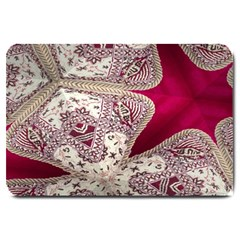 Morocco Motif Pattern Travel Large Doormat
