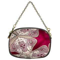 Morocco Motif Pattern Travel Chain Purses (One Side)