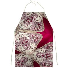 Morocco Motif Pattern Travel Full Print Aprons