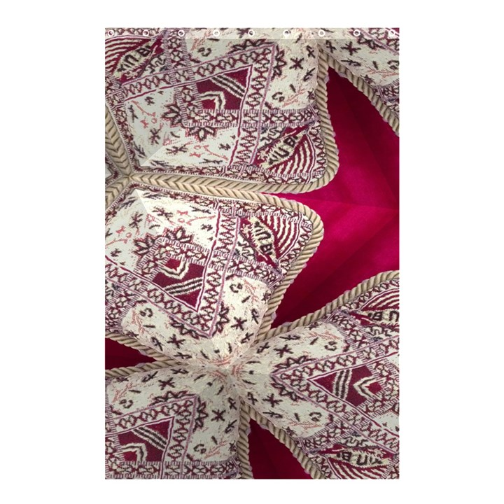 Morocco Motif Pattern Travel Shower Curtain 48  x 72  (Small)