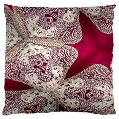 Morocco Motif Pattern Travel Large Cushion Case (Two Sides)