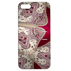 Morocco Motif Pattern Travel Apple Iphone 5 Hardshell Case With Stand