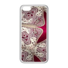 Morocco Motif Pattern Travel Apple Iphone 5c Seamless Case (white)