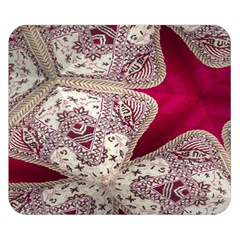 Morocco Motif Pattern Travel Double Sided Flano Blanket (small)