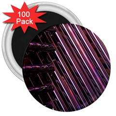 Metal Tube Chair Stack Stacked 3  Magnets (100 pack)
