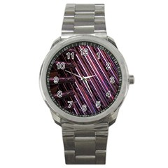 Metal Tube Chair Stack Stacked Sport Metal Watch