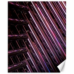Metal Tube Chair Stack Stacked Canvas 16  x 20