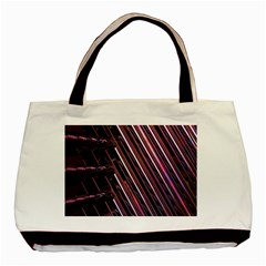 Metal Tube Chair Stack Stacked Basic Tote Bag (Two Sides)