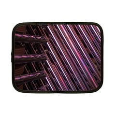 Metal Tube Chair Stack Stacked Netbook Case (Small)