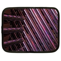 Metal Tube Chair Stack Stacked Netbook Case (Large)